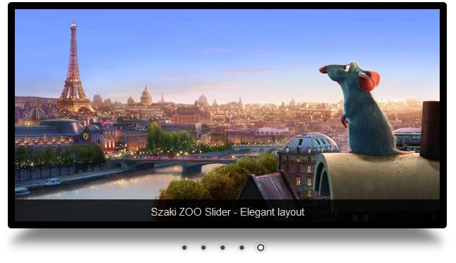ZOO Slider elegant layout